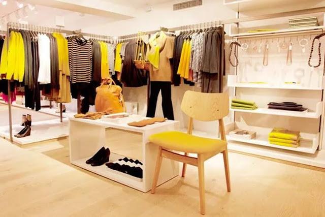 Thiết kế shop thời trang nhỏ đẹp - Mẫu số 8