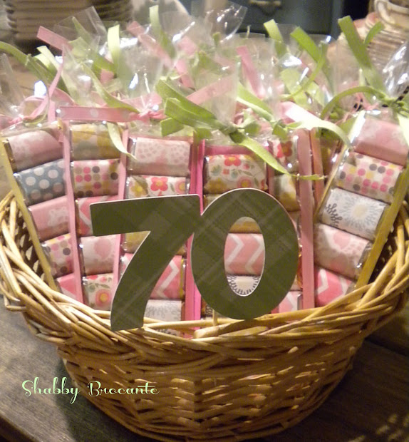 Shabby Brocante Hersey' Adult Party Favors