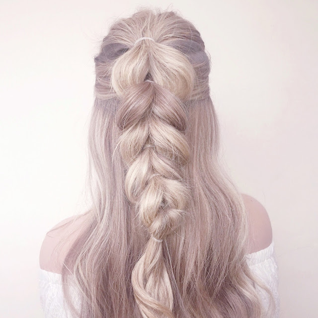 Half Up Pull Through Dutch Braid | Braided Hairstyle