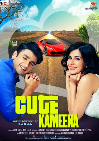 Poster of Cute Kameena Full Hindi Movie Download Hd