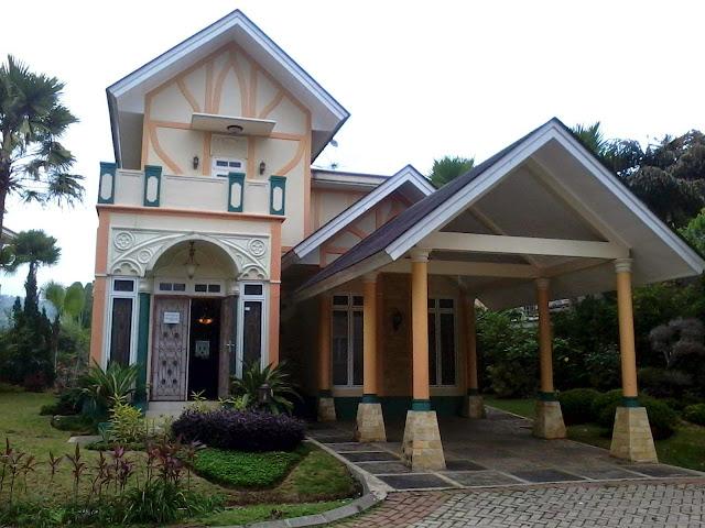 Harga sewa villa di kota bunga puncak cluster forsales