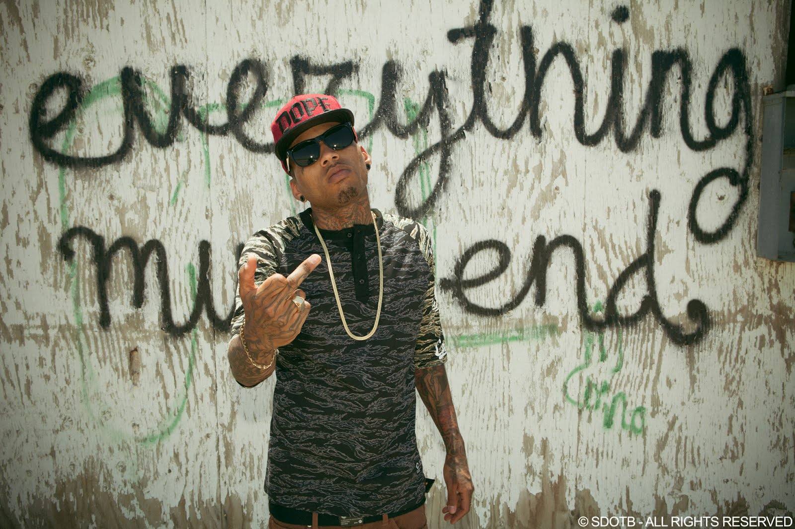 S DOT B PHOTOGRAPHY: Kid ink - Hell & Back Video Shoot