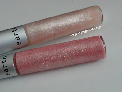 Red Earth lip shines PK018 and PK021