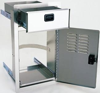 Stainless Steel Access Door For Outdoor Kitchens