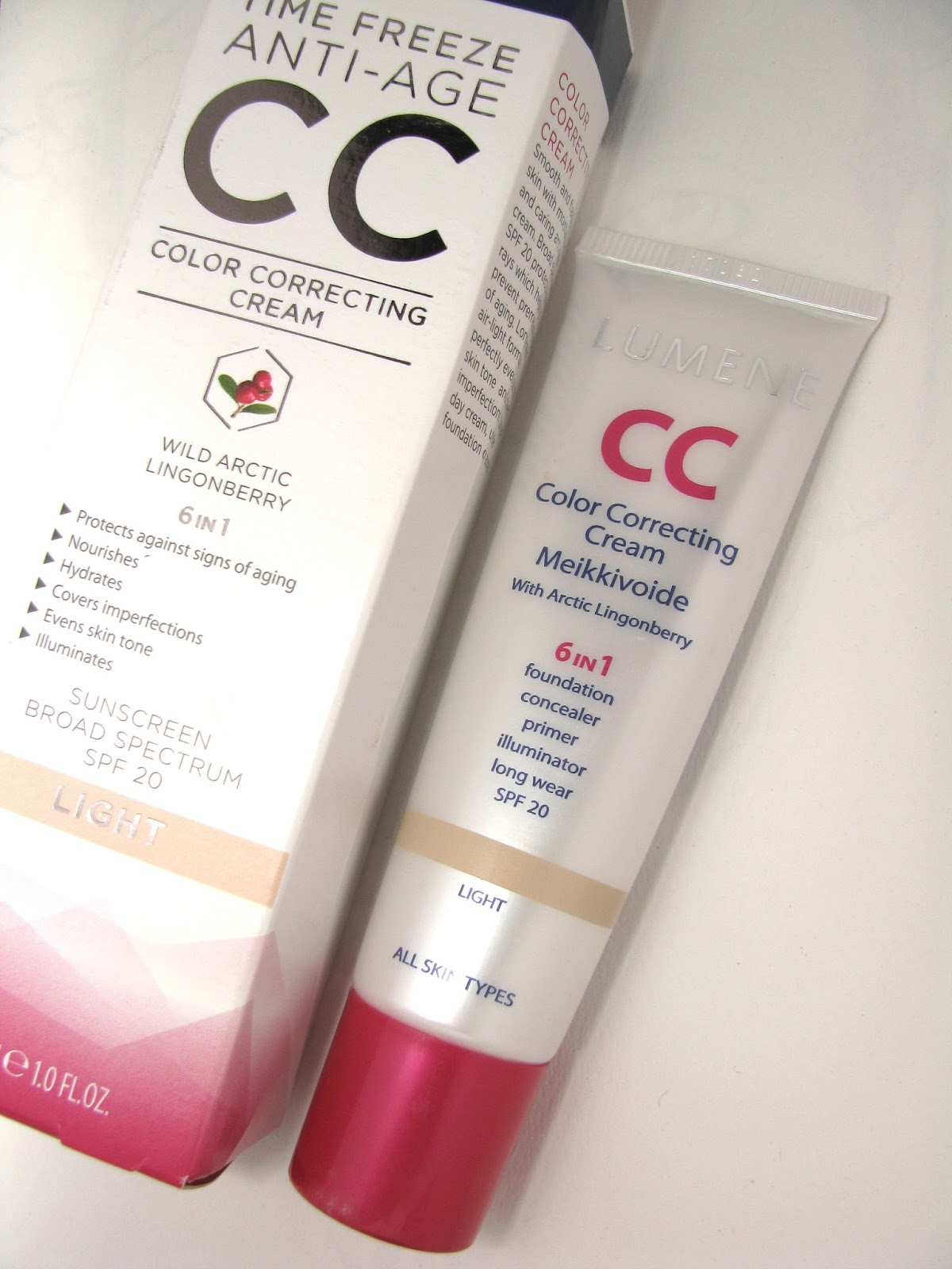 The Beauty Alchemist: Lumene Time Freeze Anti Age CC Cream