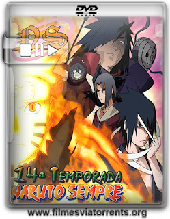 Naruto Shippuden 14ª Temporada Torrent - DVDRip Legendado (2013)