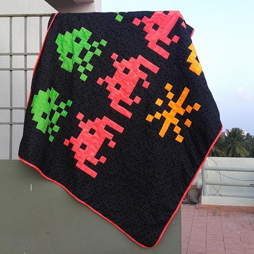 Arcade Boys Quilt Free Pattern