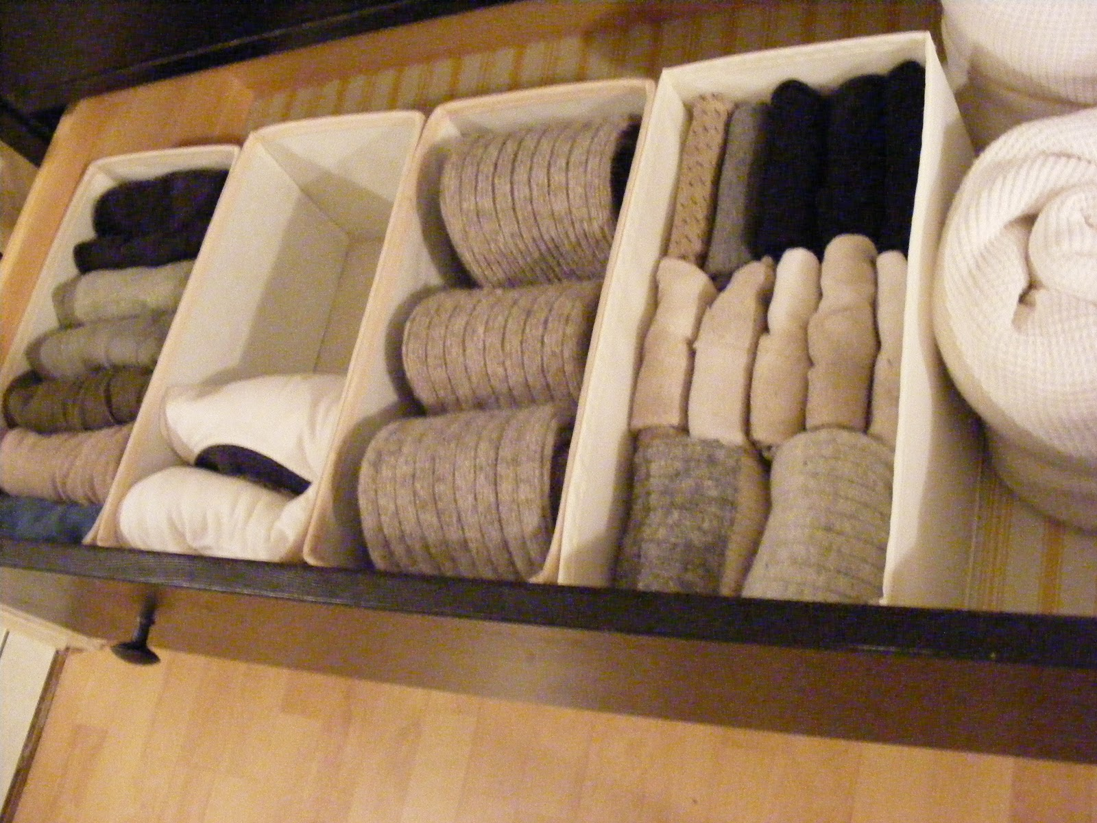 Organizedhome Day 14 Sock Drawer 101 A K A How To Fold