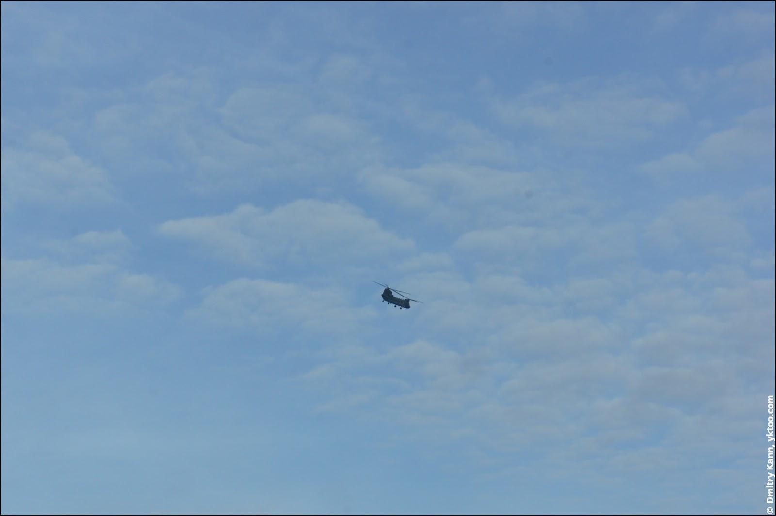 Вертолёт.