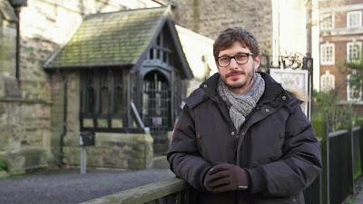 O repórter Felipe Kieling na Irlanda do Norte - Divulgação/Band