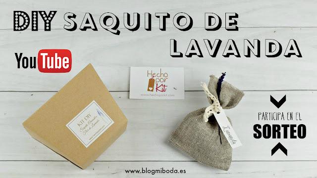 DIY saquitos de lavanda hecho por kit - regalo boda - comunion - bautizo