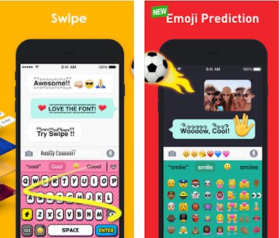 Customize your own keyboard with your favorite picture! You can create your own keyboard with cool fonts, colorful pictures and cute emojis