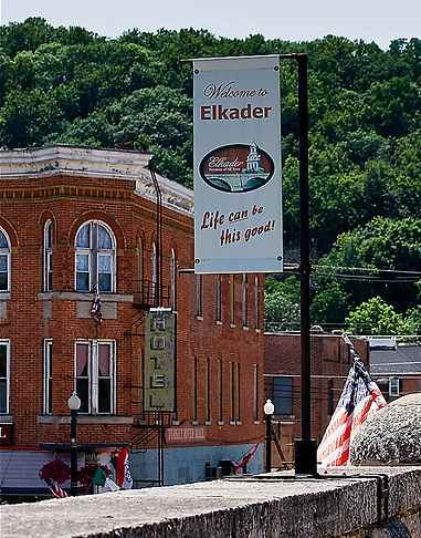 Town of Elkader Iowa