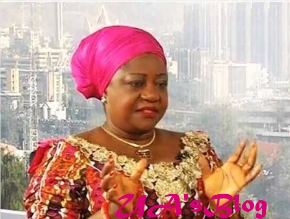 We Won't Have A President Who Can't Go To America - Lauretta Onochie