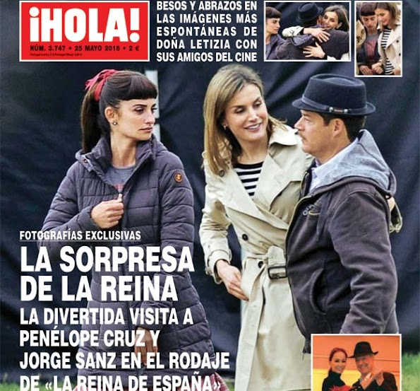 "Queen of Spain is the sequel to Trueba's 1998 drama ""The Girl of Your Dreams,"" which also starred Cruz in a story set during the Spanish Civil War with Josef Goebbels falling in love with Macarena Granada."