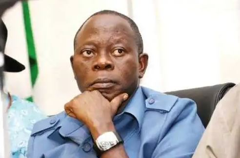 """""""We have not shut out any governor"""" – Oshiomhole on rumoured exit of Ortom from APC"""