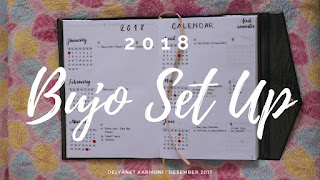 Bullet Journal Set Up untuk tahun 2018 (+Video)