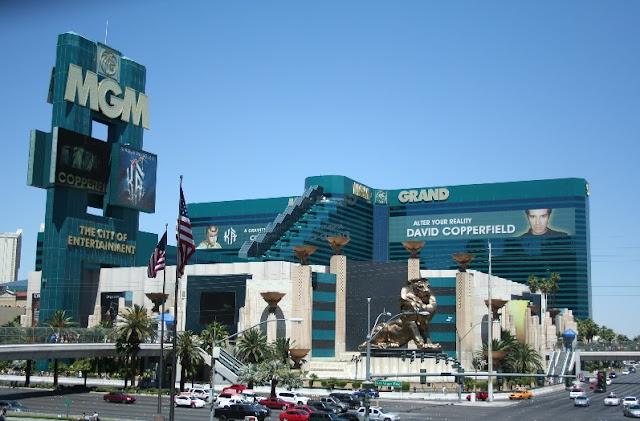 Leão do MGM Grand em Las Vegas