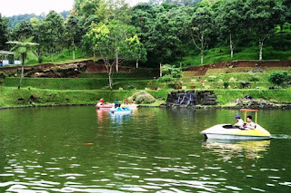 wisata sepeda air baturaden
