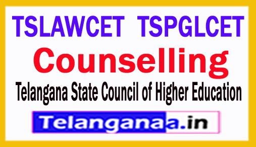 Telangana LAWCET PGLCET 2018 Counselling