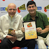 Late Shri. Mehmood Ali wins the 92.7 BIG FM's 'Hit Thhe Hit Rahenge' award