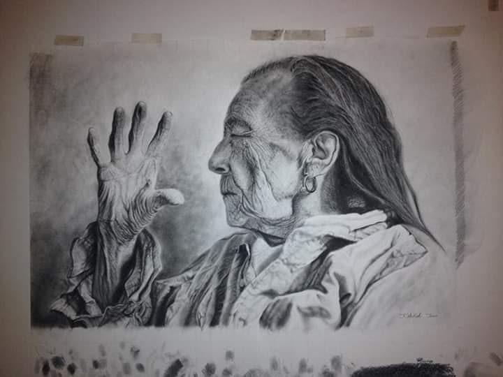 08-Louise-Bourgeois-Ivan-Kobilšek-Pencil-Portrait-www-designstack-co