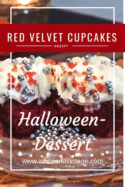 Halloween-Dessert: Red Velvet Cupcakes Rezept