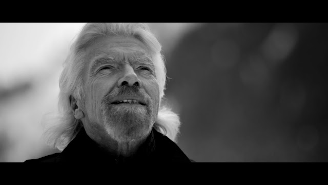 Richard Branson Treks Through the Snowy Alps to Launch  VOOM