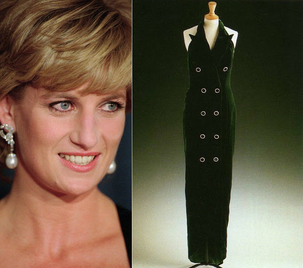 Princess Diana's Catherine Walker Dress To Be Exhibited