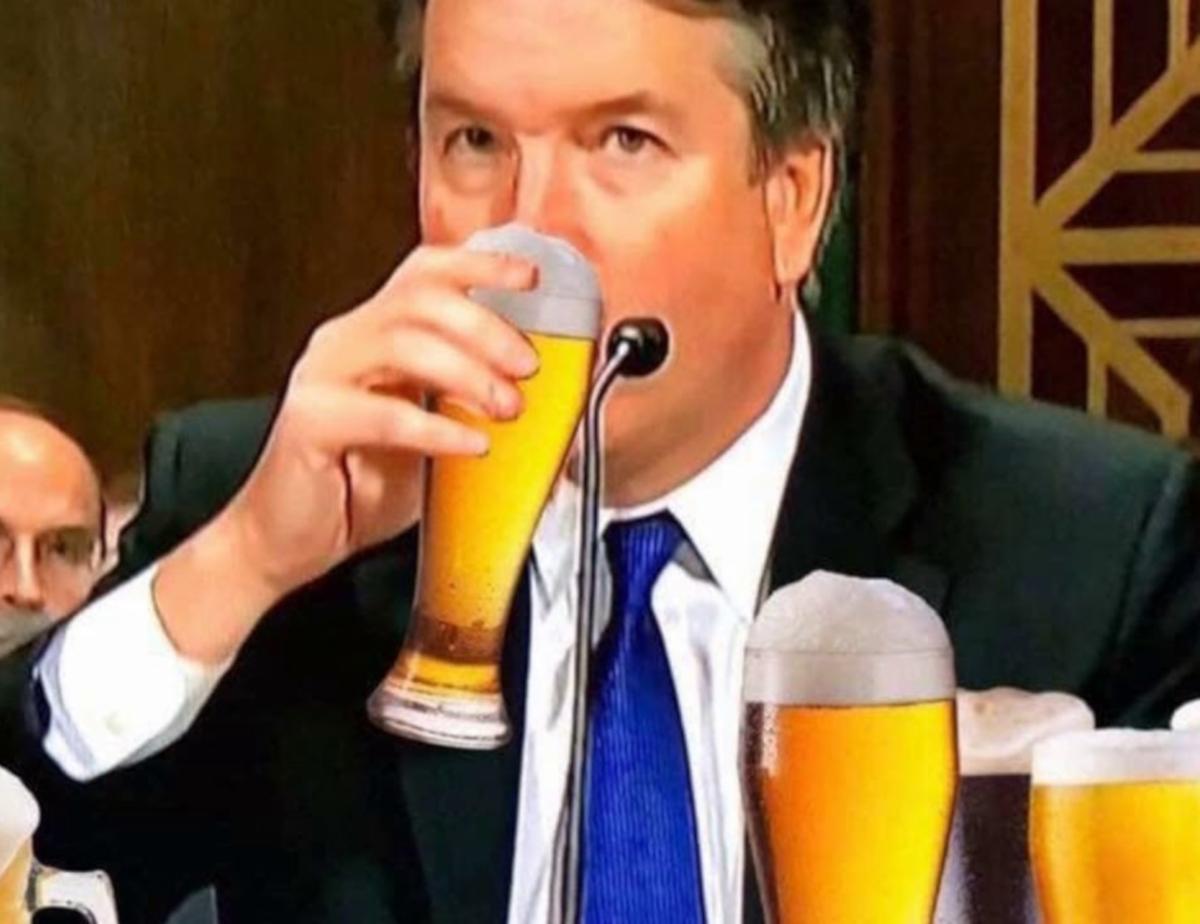 Brett Kavanaugh I Like Beer