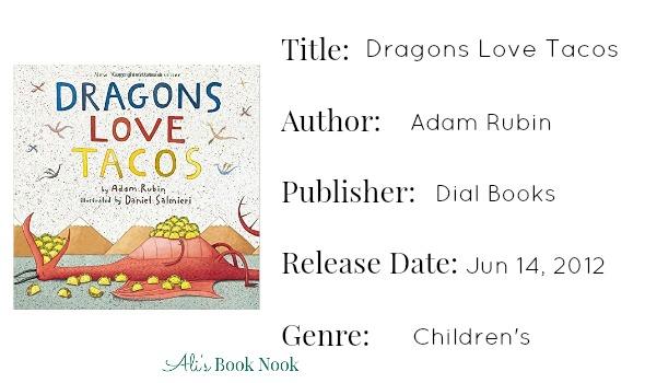 dragons love tacos book publishing information
