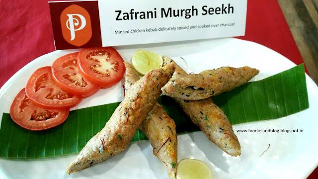 Zafrani Murgh Seekh @ The Hot N Juicy Kebab Festival @ Paradise | Bangalore