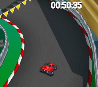 سباق سيارات 3d