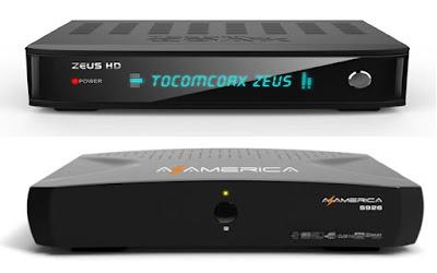 Transforme Tocomsat Zeus em Azamerica S926