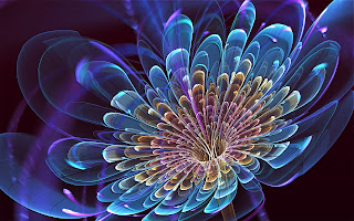 3D flowering wallpapers