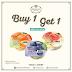 Promo Tous Les Jours Petitzel Fruity Jelly Beli 1 GRATIS 1