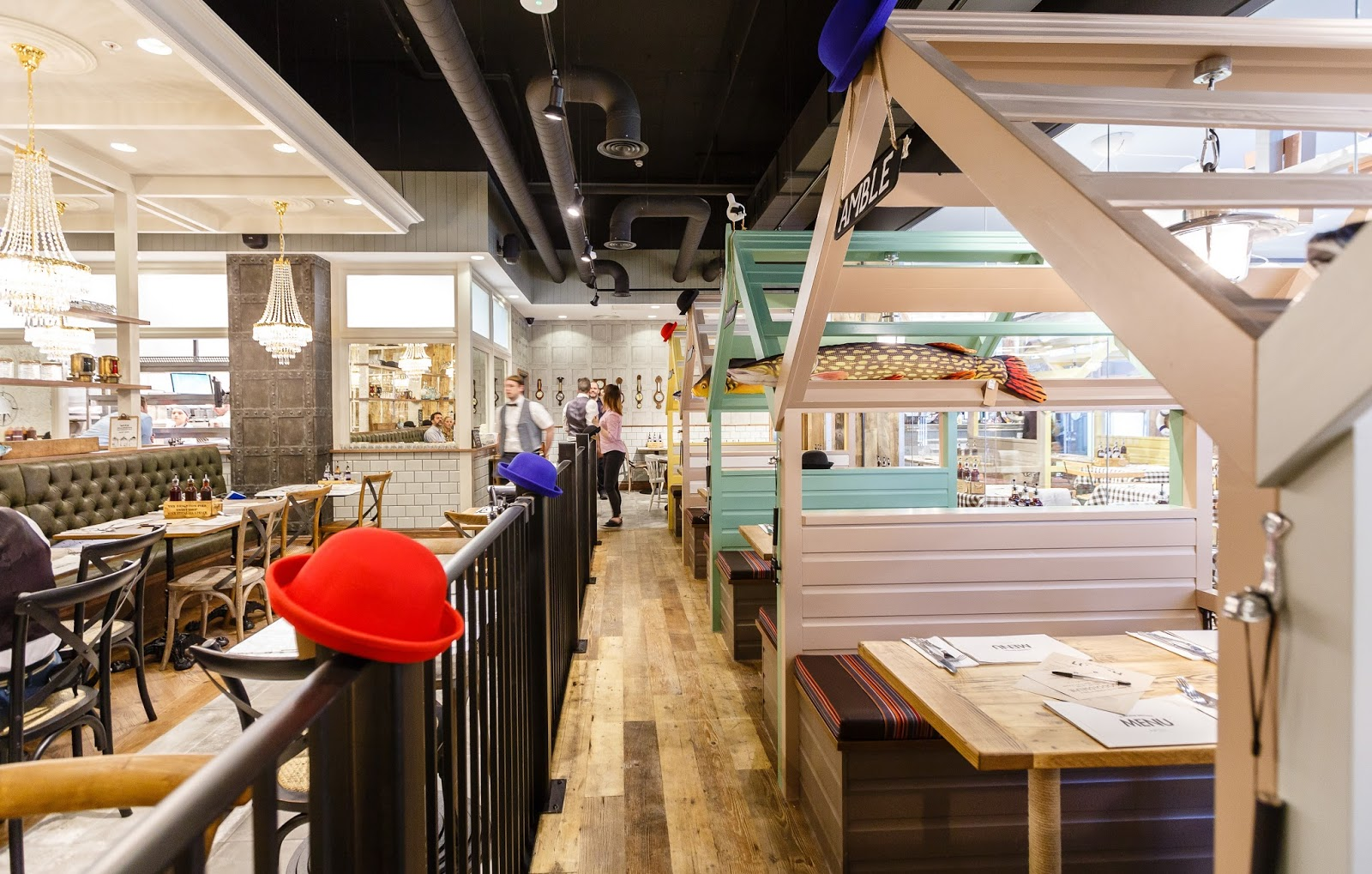 A guide to new restaurants opening in the new Grey's Quarter, intu Eldon Square including The Alchemist, Giraffe and Chaophraya