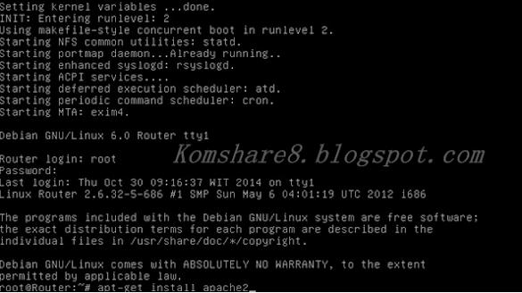 Cara Install Apache Web Server Pada Debian Server