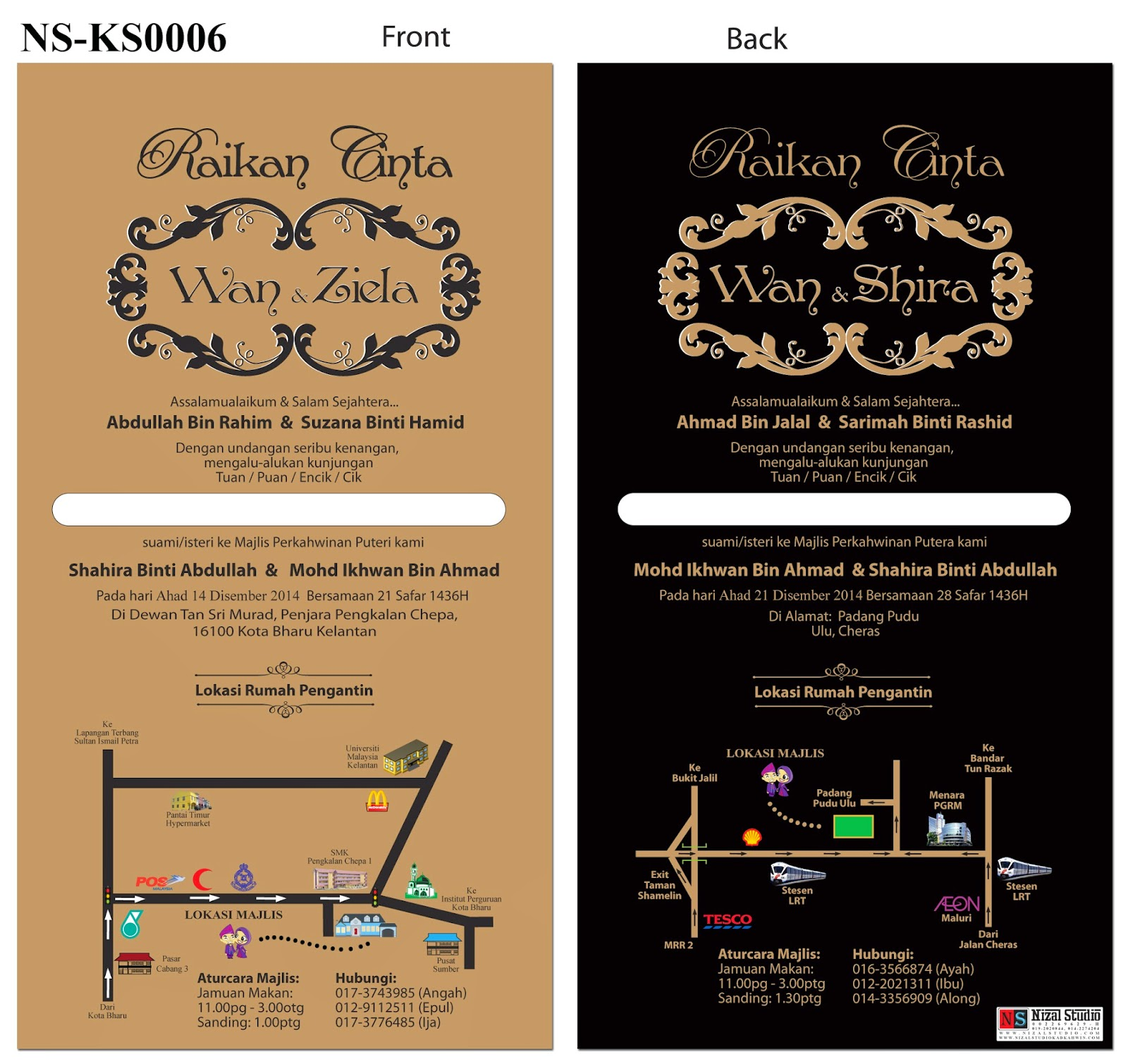 Nizal Studio Hq 002269629 H Kad Kahwin Bajet