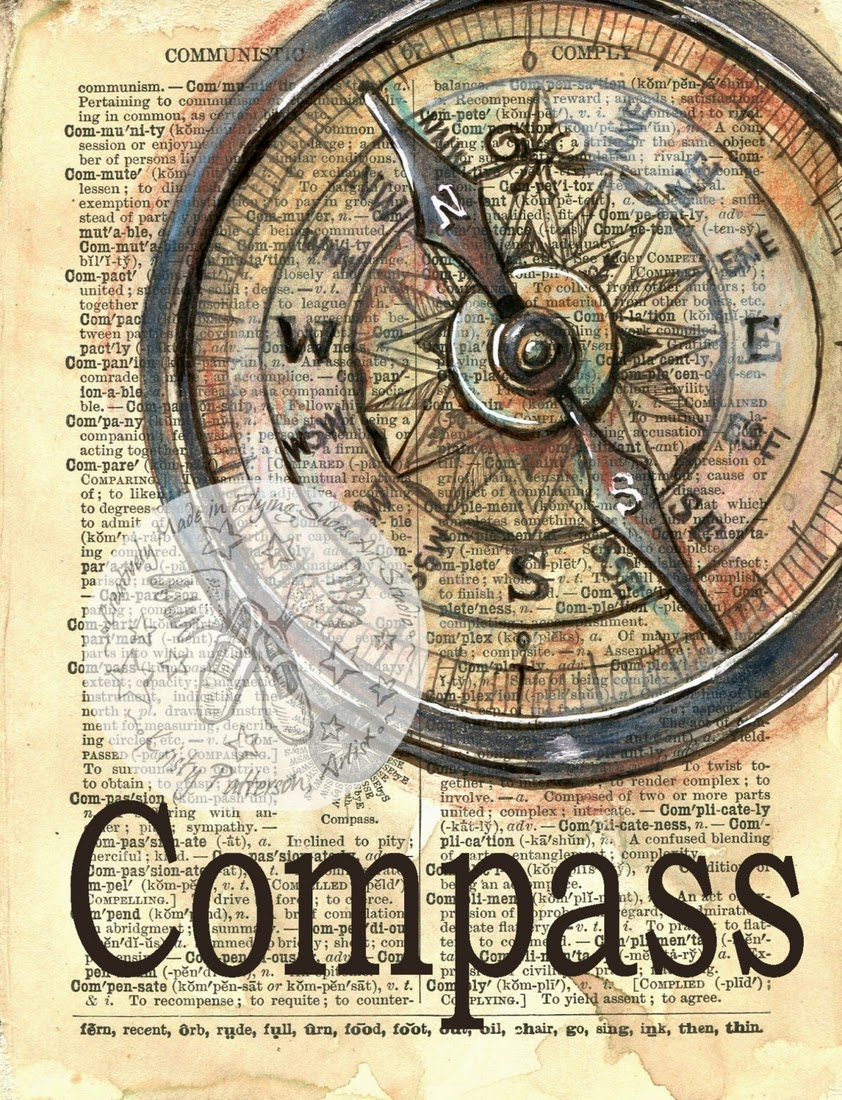 05-Compass-Kristy-Patterson-Flying-Shoes-Art-Studio-Dictionary-Drawings-www-designstack-co