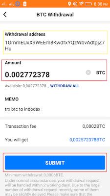cara withdrawal aplikasi pivot android