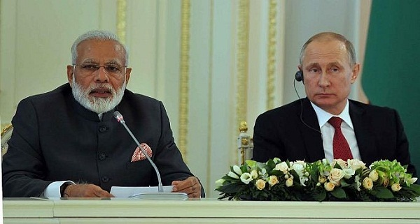 Saint Petersburg, PM Modi, Narendra Modi, India-Russia, PM Narendra Modi, Indo-Russia, Vladimir Putin