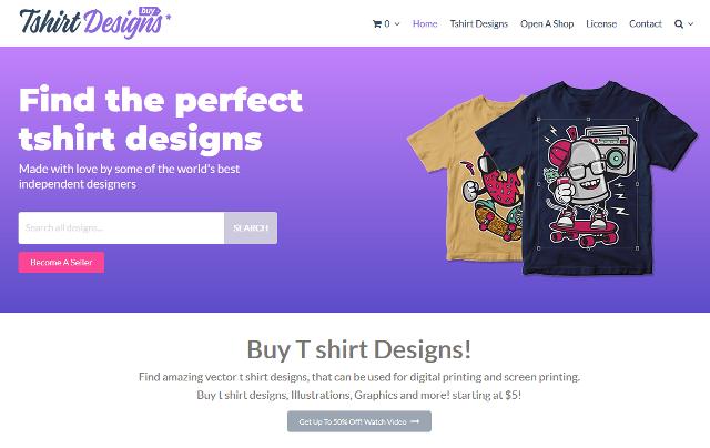 7 Website Tees Online bisa untuk Inspirasi Desain