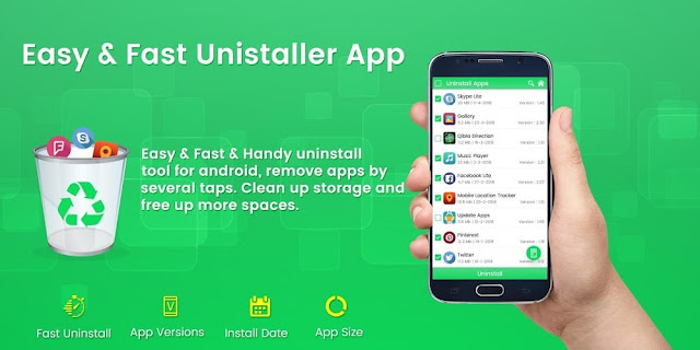 برنامج Easy Uninstaller – Remove Apps للأندرويد