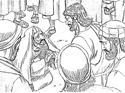 Bible Fun For Kids: Life of Jesus Pictures to Color