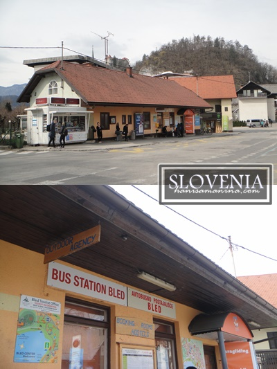 Backpacking to Bled, Slovenia