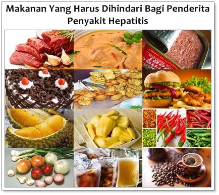 Makanan Yang Harus Dihindari Bagi Penderita Penyakit Hepatitis