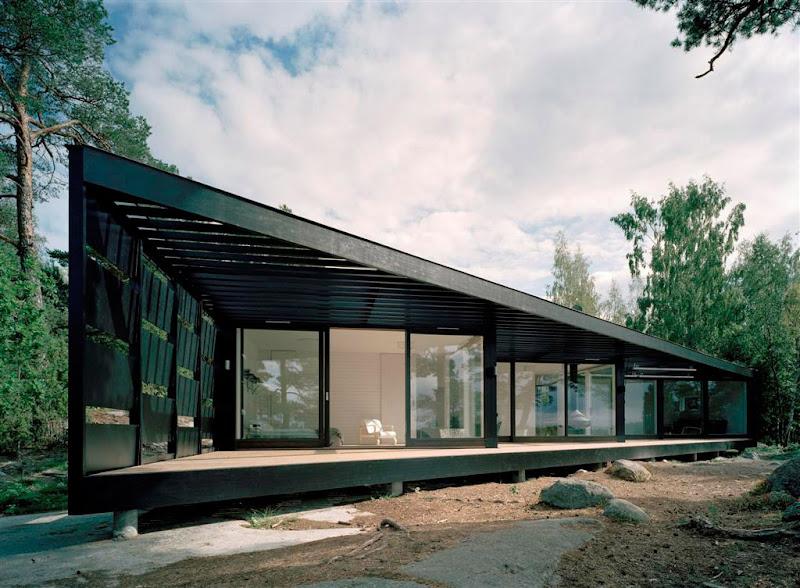 Casa de Verano en el Archipielago de Estocolmo - Tham & Videgård Hansson