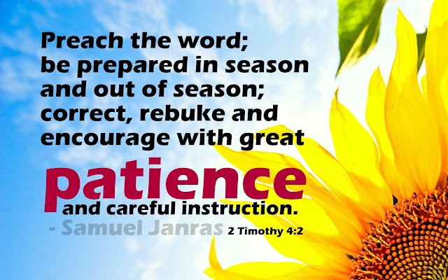 Patience and Careful Instruction