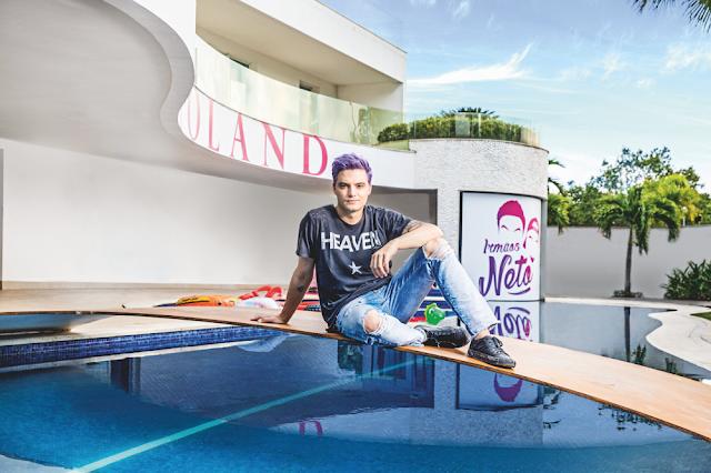"""Yotube da dinheiro? Felipe Neto mostra sua mansão de 7.5 Milhões de Reais em primeiro vídeo oficial do canal """"Irmãos Neto"""""""